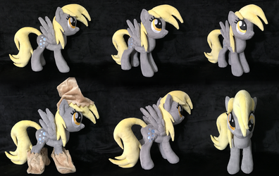 Derpy Hooves Plush (Nightmare Night) .: SOLD :. by AlicornParty
