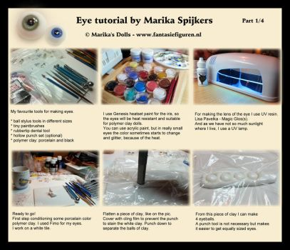 Realistic doll eye tutorial Part 1 by Marika-Spijkers