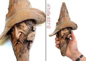 The Frontiersman by psychosculptor