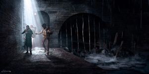In the Sewers by Syrphin