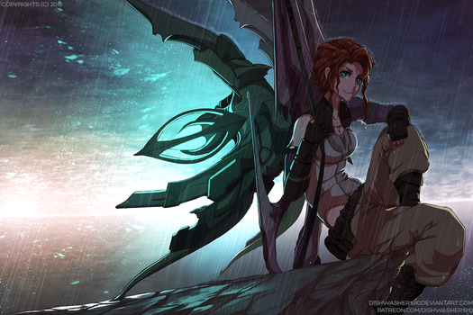 Commission : Xenoblade X character by dishwasher1910