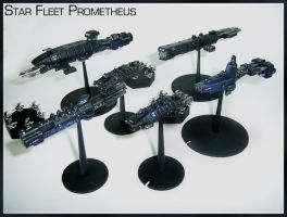 Babylon 5 Fleet Prometheus by Proiteus