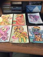 MLP watercolor pics by MaryBellamy