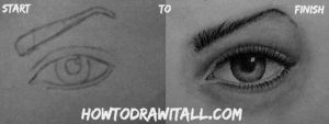 How To Draw An Eye by HowToDrawItAll