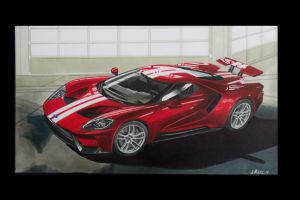 Ford Gt 2016 by Stephen59300