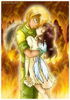 I'll never let you burn... by Raygirl13