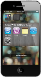 iFolder BLACK for iPhone 4 by JackieTran