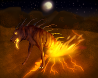 Doodle? It was a lineless practice by LonewolfKumniver