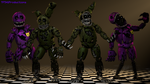 Nightmare Springtrap v1 by TF541Productions