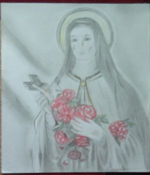St Therese of Lisieux by ADOrnelas