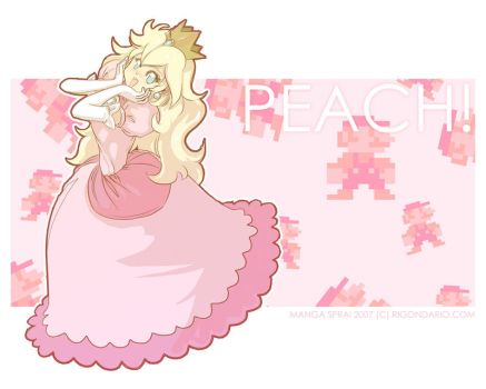 PEACH by mangasprai