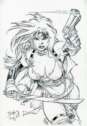 Ed benes Nina by drklegion