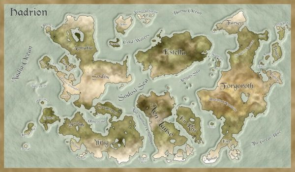 Map of Hadrion 01 by Carbonian
