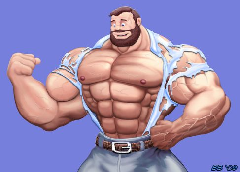 Bluto rips shirt by Blathering