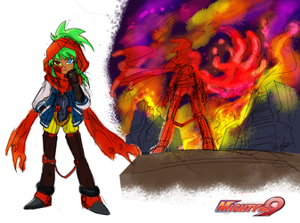 Mighty Quester 9 - Rachel Reds by Tindyflow
