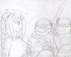TMNT-Valentine's Day by sammychan816