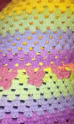 butterfly border baby blanket by crochetamommy