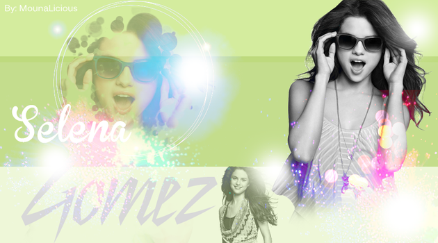 Selena Gomez by MounaLiciousEditions