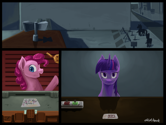 PAPERsPLEASE by Chickhawk96