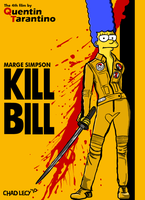 Marge Simpson in Kill Bill by Classy-Zombie