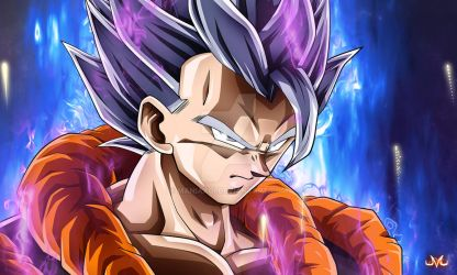 Gogeta Mastered Ultra Instinct by Maniaxoi