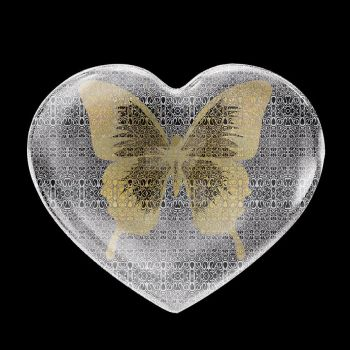 Gold Butterfly by zuzugraphics