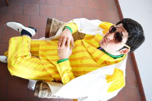 Light Admiral - Kizaru cosplay by Hayato-X-Flame