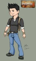 Nathan Drake by redfield37