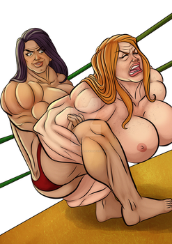 [C] Wrestling Match 15 by roemesquita