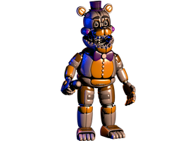 Funtime fredbear comission for AponyoModels by NathanzicaOficial