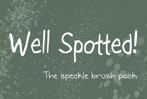 Speckle Brush Pack by alexpeanut