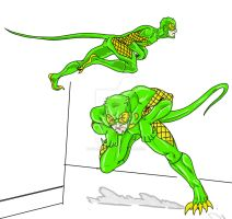 Reptilian movement test by Silverback1