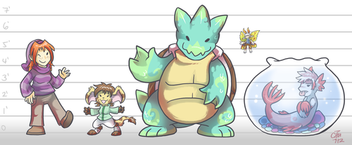 Commission - Median Lineup by raizy