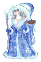 Kunzite Father Frost or Ded Moroz commission by Lucifer-Krusnik00