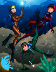 Scuba Scouts by Severflame