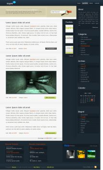 blogme 0.2 by alexdesigns