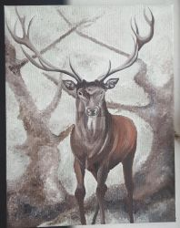 Stag by Aphrikelle89