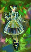 Alice in the Woods by turbinedivinity