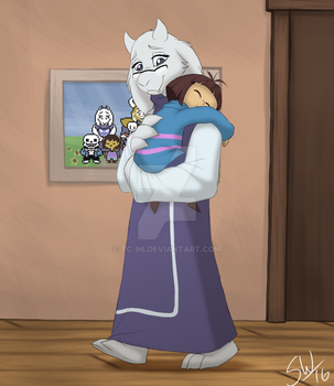 Undertale - Goat Mom by TC-96