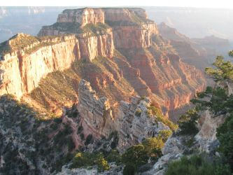 Grand Canyon Outcropping by EidolWays