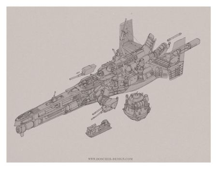 Gunboat Cutaway by MikeDoscher