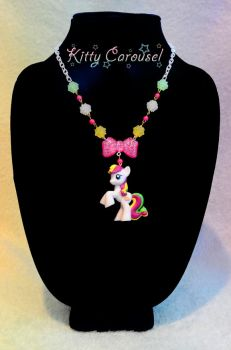 My little pony coconut cream necklace by shuiichibrie