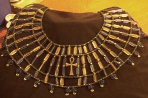 Egyptian Collar by morgandria