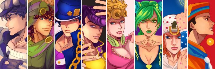 ALL STAR JOJOS by emptycicada1