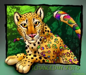 I Changed My Spots by Nashoba-Hostina