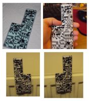 double sided Missingno magnet