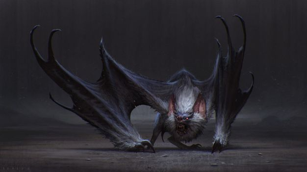 Bat by SaeedRamez
