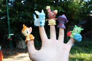 PokeFingers by thatravenclawchick