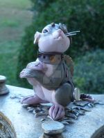 Artemus - Steampunk Mouse Sculpture by MysticReflections