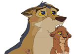 Old pal returning favor by RivertailofRiverclan